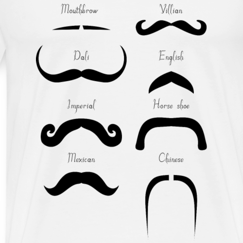 types moustaches