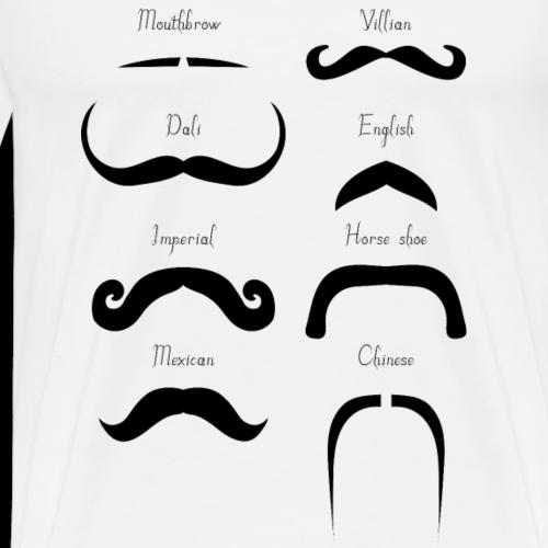 types moustaches