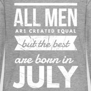 Verjaardag Juli mannen the best are born in july Shirts met lange mouwen - Teenager Premium shirt met lange mouwen