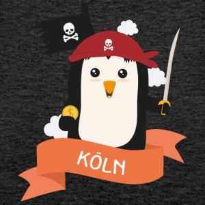 Pinguin Pirat aus KÖLN S30w88 Tops - Frauen Premium Tank Top