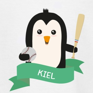 Baseball Pinguin aus KIEL Sll8km T-Shirts - Teenager T-Shirt