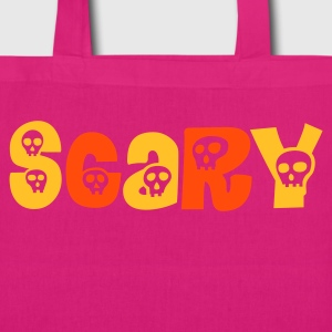 Scary Skulls - EarthPositive Tote Bag