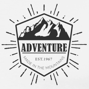 Adventure is made in the mountains T-Shirts - Men's Premium T-Shirt