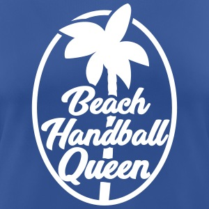 Beach Handball Queen - Handball T-Shirts - Frauen T-Shirt atmungsaktiv