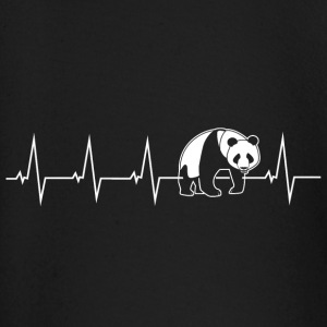 Panda - heartbeat Baby Long Sleeve Shirts - Baby Long Sleeve T-Shirt