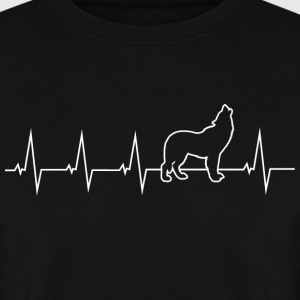 Wolf - battement de coeur Sweat-shirts - Sweat-shirt Homme