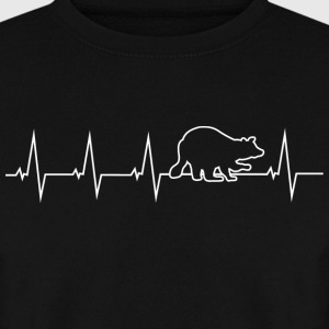 Raccoon - heartbeat Hoodies & Sweatshirts - Men's Sweatshirt