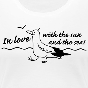 In love T-shirts - Premium-T-shirt dam