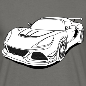 cool car white Tee shirts - T-shirt Homme