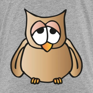 tired owl Shirts - Kids' Premium T-Shirt