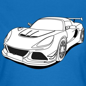 cool car white T-shirts - Vrouwen T-shirt