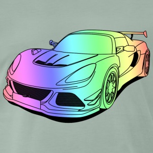 cool car colourful Tee shirts - T-shirt Premium Homme