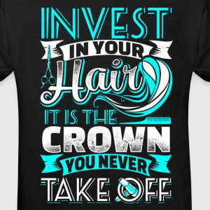 Invest in your Hair  - Hair Stylist - EN Shirts - Kids' Organic T-shirt