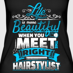 Life is more Beautiful - Hair Stylist - EN Tops - Women's Organic Tank Top