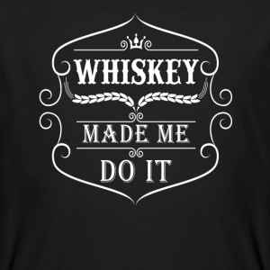 Whiskey made me do it T-Shirts - Männer Bio-T-Shirt