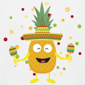 Mexiko Ananas Party S9mvli T-Shirts - Kinder Baseball T-Shirt