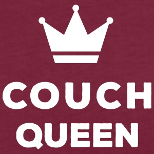 Couch Queen T-Shirts - Frauen Oversize T-Shirt