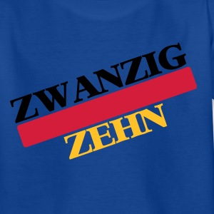 Royalblau Zwanzig Zehn Kinder T-Shirts - Teenager T-Shirt