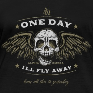 one day I`ll fly away part 2 Langarmshirts - Frauen Bio-Langarmshirt