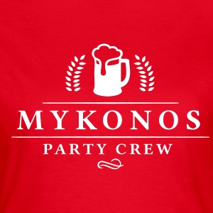 Mykonos Party Crew - Party T-Shirts - Frauen T-Shirt