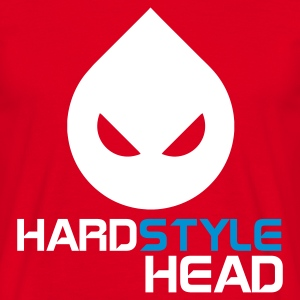 Red Hardstyle Head Men's T-Shirts - Men's T-Shirt