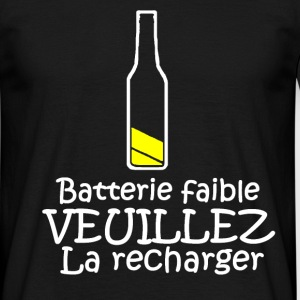 Batterie faible Tee shirts - T-shirt Homme