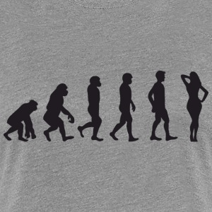 Evolution Hot Lady T-Shirts - Frauen Premium T-Shirt