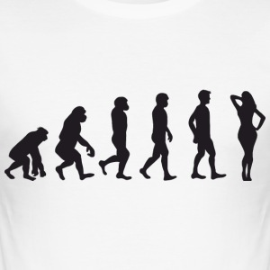 Evolution Hot Lady T-Shirts - Männer Slim Fit T-Shirt