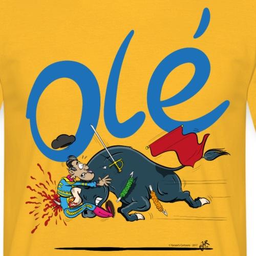 Olé, Stierenvechter met pech (voor lichte shirts)
