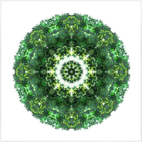 "Mandala ""Emerald Eye"""