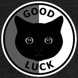 Katzen Good luck 2 T-Shirts - Frauen Premium T-Shirt