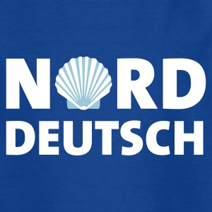 Royalblau norddeutsch_muschel_2c Kinder T-Shirts - Teenager T-Shirt