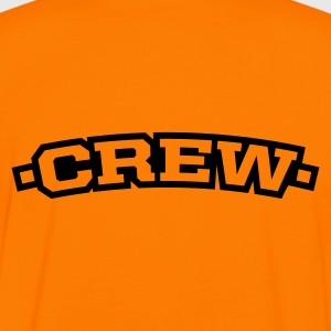 Orange/black crew Men's T-Shirts - Men's Ringer Shirt