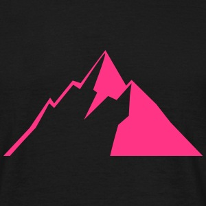 Mountain, Hiking Nature, Berge, Alpen T-shirts - T-shirt herr