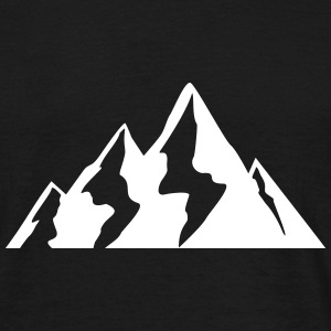 Mountain, Hiking Nature, Berge, Alpen Camisetas - Camiseta hombre