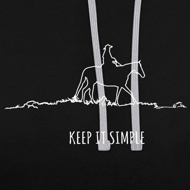 Keep it simple Western - Hoodie