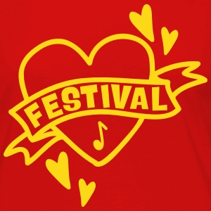 festival heart Long Sleeve Shirts - Women's Premium Longsleeve Shirt