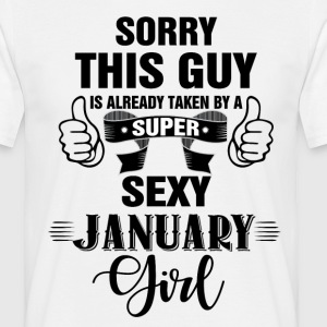 sorry this guy is already taken by a  super janua T-Shirts - Men's T-Shirt