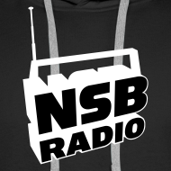 Design ~ NSB White on Black Hoodie