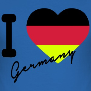 i love germany T-Shirts - Männer Slim Fit T-Shirt