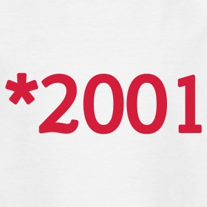 Weiß 2001 Kinder T-Shirts - Teenager T-Shirt