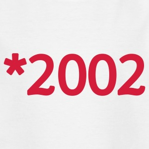 Weiß 2002 Kinder T-Shirts - Teenager T-Shirt