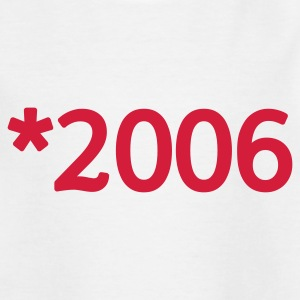 Weiß 2006 Kinder T-Shirts - Teenager T-Shirt
