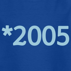 Navy 2005 Kinder T-Shirts - Teenager T-Shirt