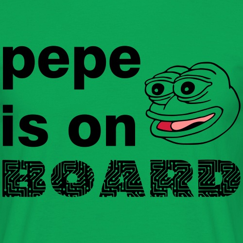 pepe is on board