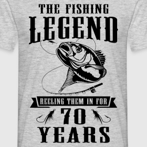 The Fishing Legend Reeling Them In For 70 Years T-Shirts - Men's T-Shirt