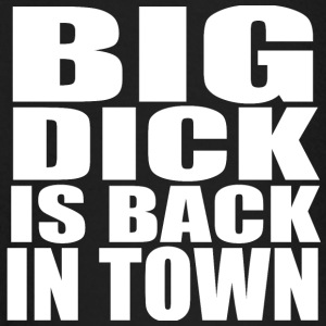 Big Dick Back in Town Baby Langarmshirts - Baby Langarmshirt