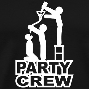 Party Crew Teamwork T-Shirts - Männer Premium T-Shirt