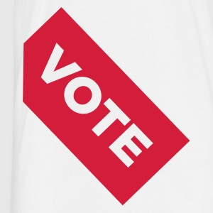 Wit Vote (1c, NEU) T-shirts - Mannen T-shirt