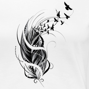 Feather - T-shirt Premium Femme